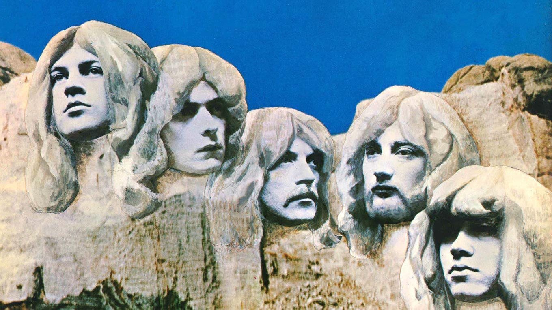 """Plattencover von Deep Purples """"In Rock"""""""