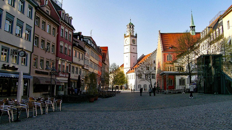 Der Ravensburger Marienplatz