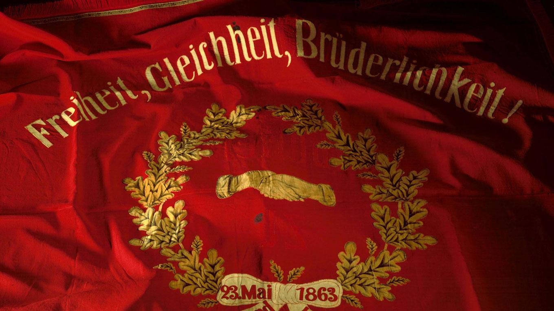 SPD-Traditionsfahne von 1863