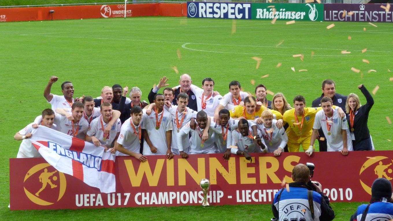 England gewinnt die U17-Europameisterschaft 2010 in Liechtenstein